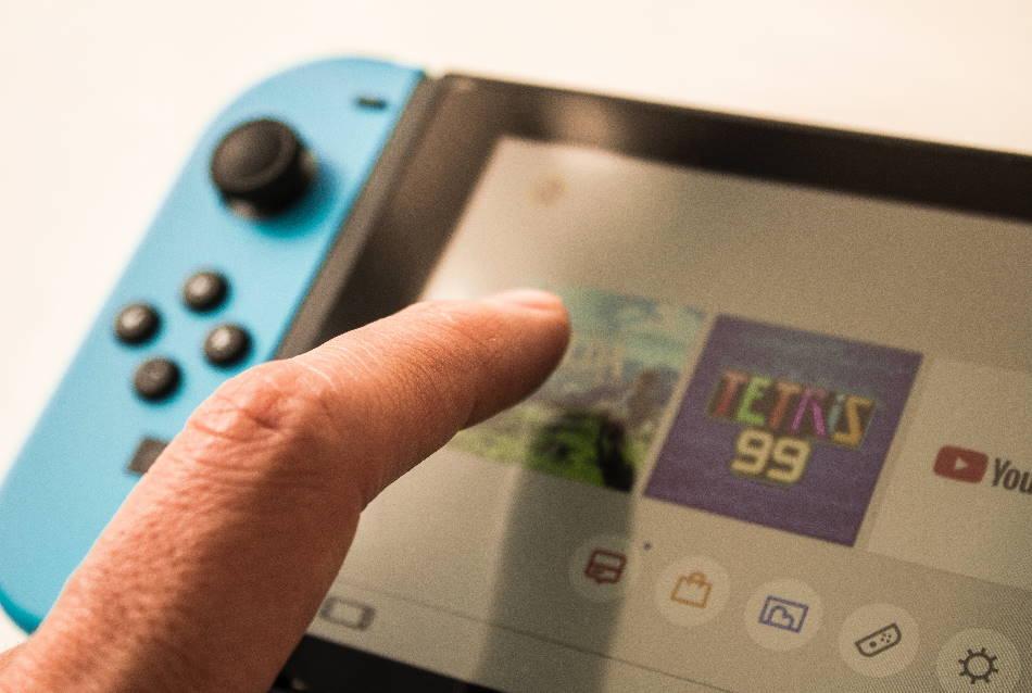 Nintendo Switch Game opstarten