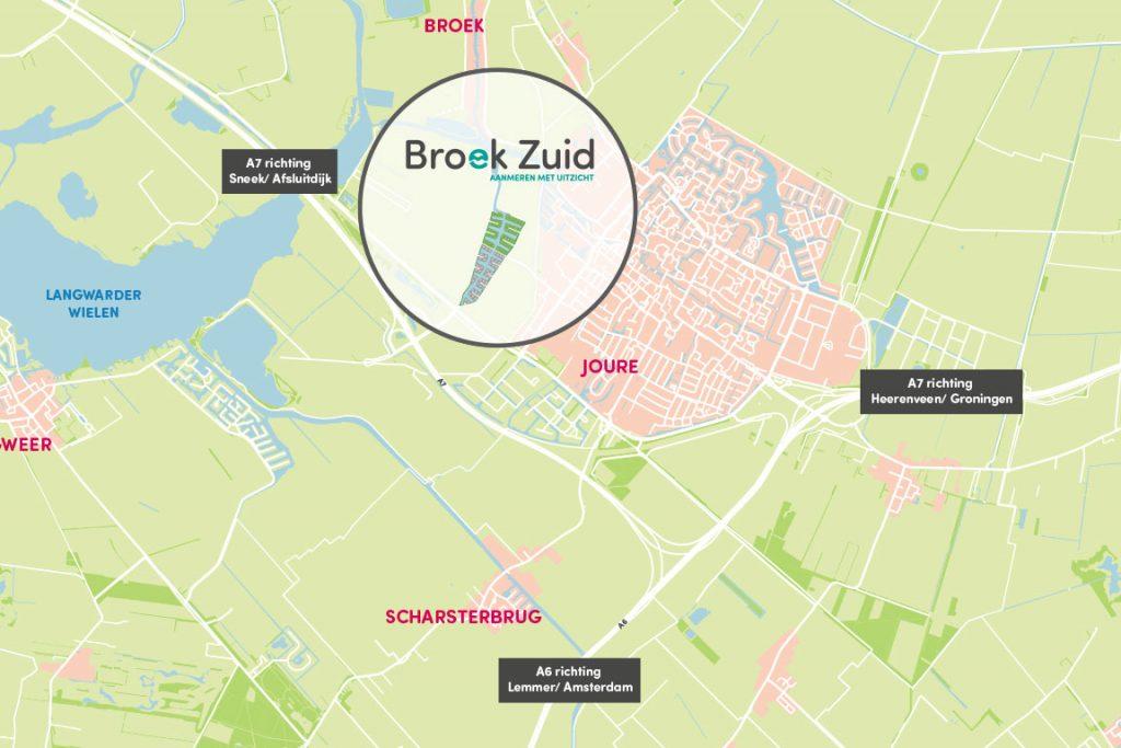 nieuwbouwproject Broek Zuid